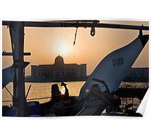 Sharjah Sunset Poster