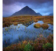 Autumn moves into Rannoch Moor... Photographic Print