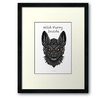 Wild Furry Inside    (WhiteClawStudio) Framed Print