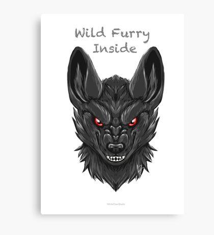 Wild Furry Inside    (WhiteClawStudio) Canvas Print