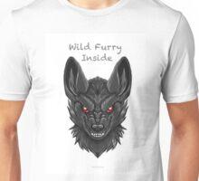 Wild Furry Inside    (WhiteClawStudio) Unisex T-Shirt