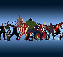Avengers: Age of Ultron by alannamode