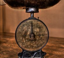 Old Kitchen Scales by Scott Sheehan