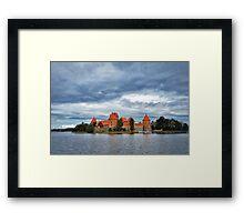 Trakai Island Castle  Framed Print