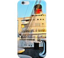 RMS Queen Mary Bow iPhone Case/Skin