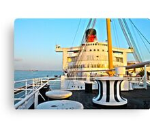 RMS Queen Mary Bow Canvas Print