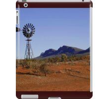 Wind Pump in the Australian Outback iPad Case/Skin