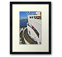 Queen Mary Layers Framed Print