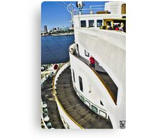 Queen Mary Layers Canvas Print