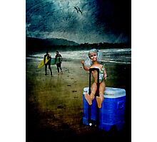 Rolling Rock Beach BARBIE Photographic Print