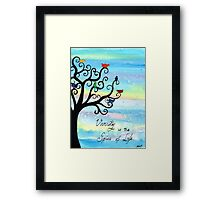 Spice of Life Framed Print
