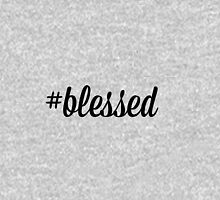 #blessed Womens Fitted T-Shirt