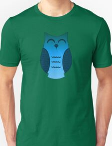 Happy Aqua Owl T-Shirt