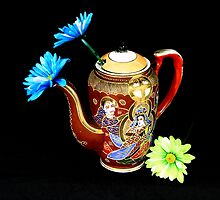 pitcher of flowers3-full by henuly1