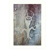 Petroglyph at Dinosaur National Monument Art Print