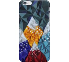 paper mountains iPhone Case/Skin