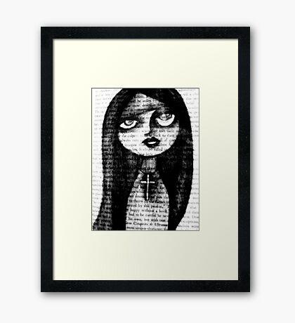 book.graphite.me.one Framed Print
