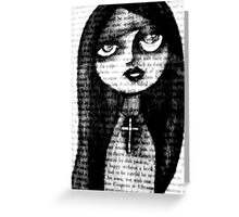 book.graphite.me.one Greeting Card
