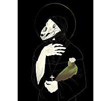 patron saint of bleached bones Photographic Print
