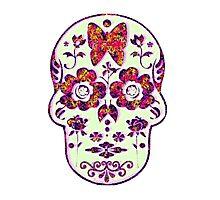 Summer Sugar Skull Photographic Print