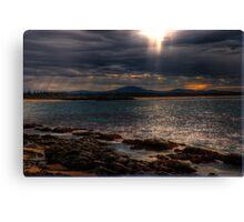 sunset forster Canvas Print