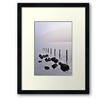 Misty morning, Wastwater Framed Print