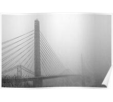 Converging Bridges I Poster
