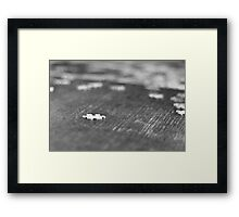Refining the Search Framed Print