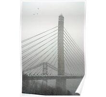 Converging Bridges II Poster