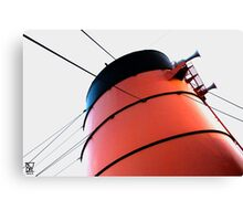 Queen Mary Funnel Canvas Print