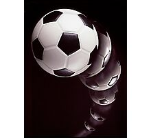 Play Soccer! Photographic Print