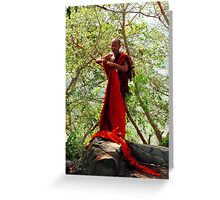 Khmer Monk Greeting Card