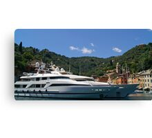 Super Yachts Canvas Print