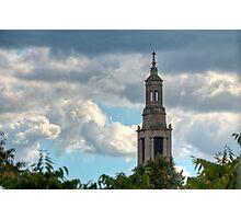 St Luke's Church Spire. Photographic Print