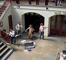 Covent Garden Buskers by chipster