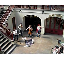 Covent Garden Buskers Photographic Print