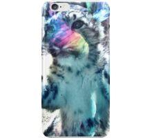 Baby snow leopard iPhone Case/Skin