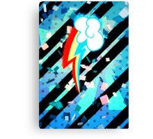 Epic Rainbow Dash Cutie Mark  Canvas Print