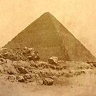 The Great Pyramid of Khufu by Nigel Fletcher-Jones