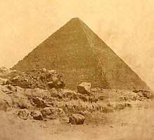 The Great Pyramid of Khufu by Nigel Fletcher-Jones