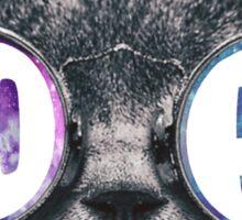 AOPI Cat Eye Galaxy Sticker
