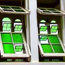 Green Glass Views Green Glass Windows by paintingsheep