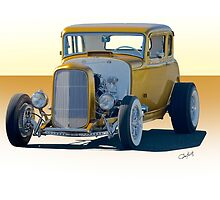 1932 Ford Coupe 'Golden Rule' by DaveKoontz
