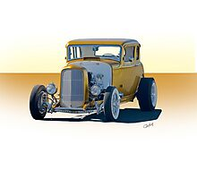 1932 Ford Coupe 'Golden Rule' Photographic Print