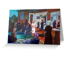 Tina's surprise 40th Birthday - Commission Greeting Card