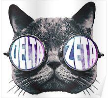 Delta Zeta Cat Eye Galaxy Poster