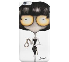 Mrs. White by Maxwell Barrett iPhone Case/Skin