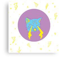 Sensitive Kitty Canvas Print