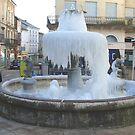 Frozen French Fountain by FranEvans
