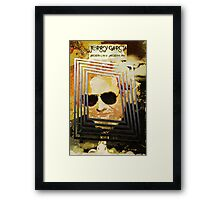 Jerry Garcia - The Bus Came By Framed Print